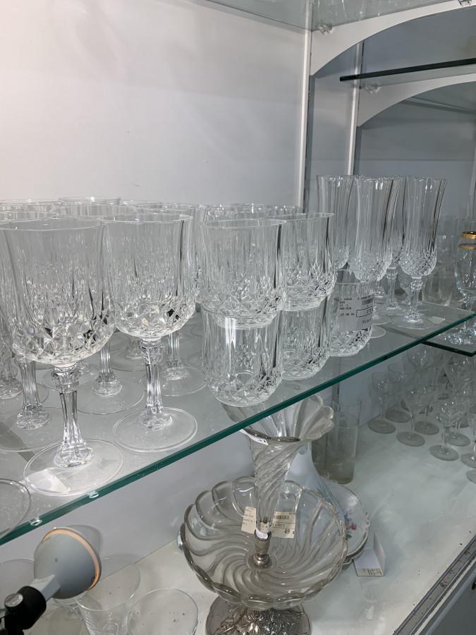 Beau lot de verres