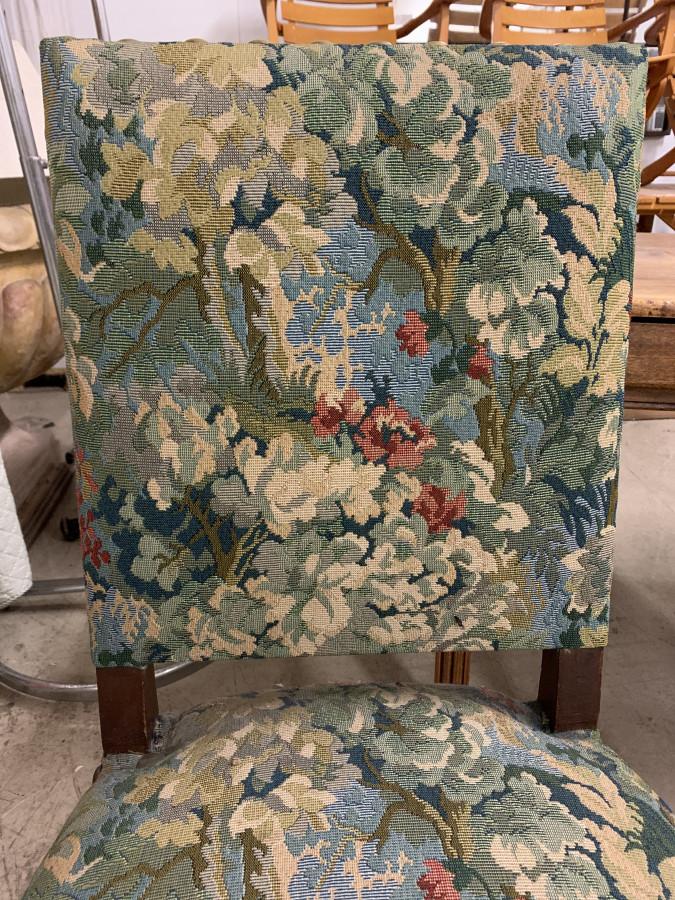 Paire de chaises Louis XIII