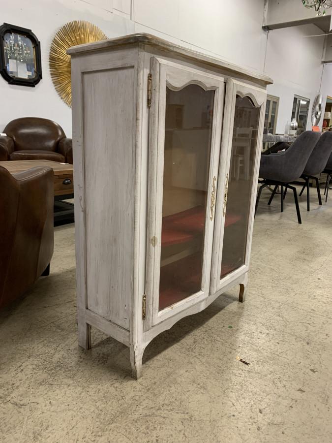Petite vitrine basse de style Louis XV
