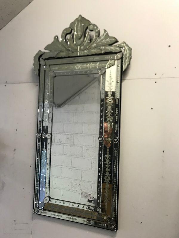 Grand miroir vénitien 70x140 cm