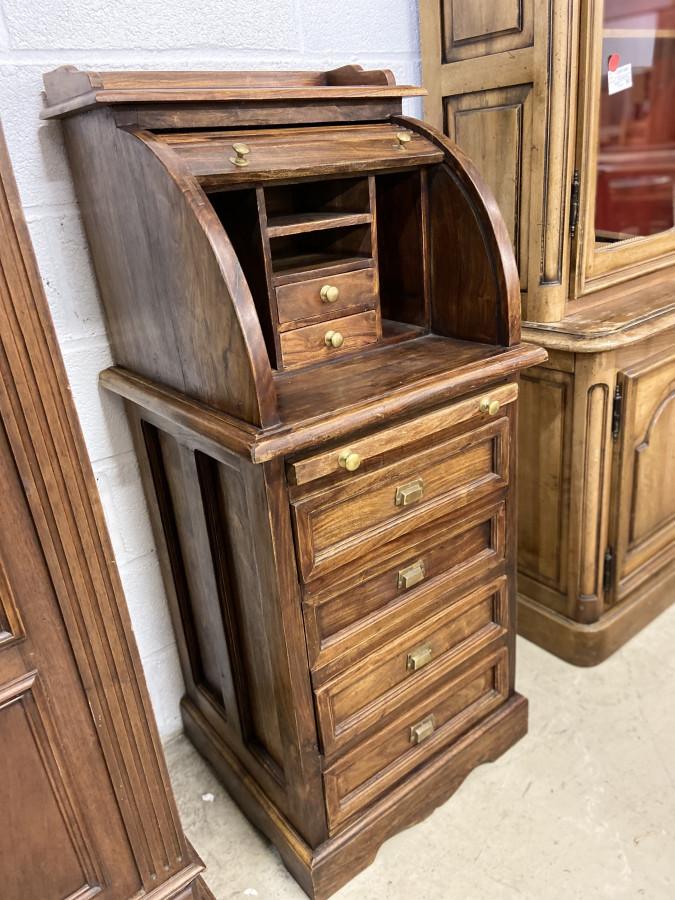 Bureau secrétaire en bois exotique