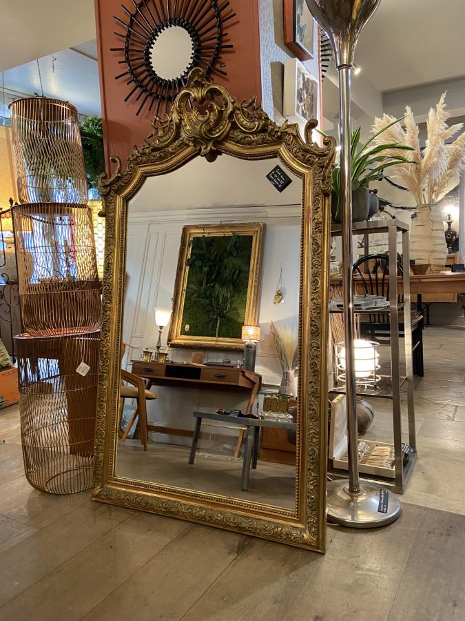 Magnifique miroir époque Napoleon III
