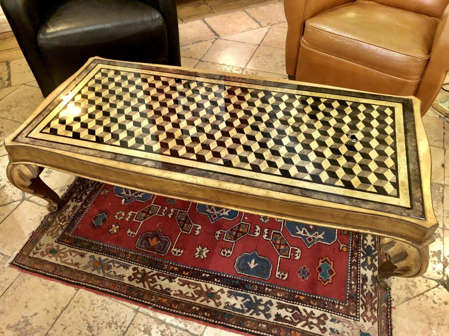 Somptueuse table basse de la Maison Jansen
